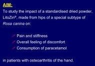 active treatment placebo - Hyben Vital ApS