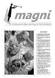 Zum Inhalt: - magni-kirche.de