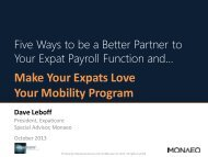 and Make Your Expats Love Your Mobility Program