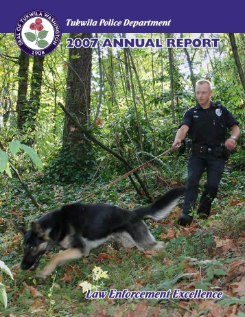 2007 annual report.indd - the City of Tukwila