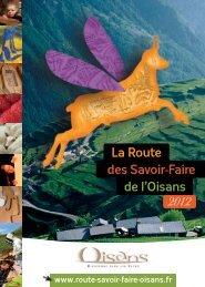 La Route de l'Oisans des Savoir-Faire