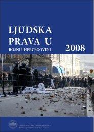 LJUDSKA PRAVA U BOSNI I HERCEGOVINI 2008 - Centar za ...