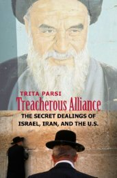 0300120575 - Treacherous Alliance The Secret Dealings of Israel, Iran, and the United States