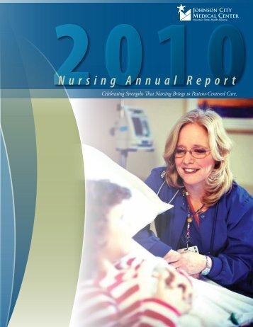 Nursing Annual Report - Mountain States Health Alliance