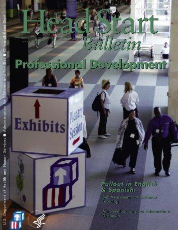 Professional Development - Head Start - U.S. Department of Health ...