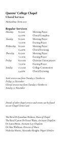 Michaelmas 2012 - College Choir - Page 3