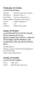Michaelmas 2012 - College Choir - Page 7