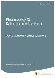 Finanspolicy för Katrineholms kommun.pdf