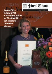 Postekon nr 2/2001 - HHGA