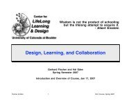 Design, Learning, and Collaboration