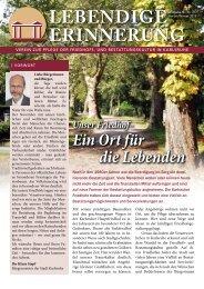 Download(PDF) - Friedhöfe Karlsruhe