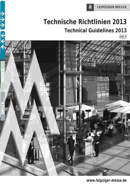 Technische Richtlinien 2013 - BIOGAS Jahrestagung und Fachmesse