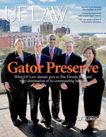 Download Magazine - Levin College of Law - University of Florida
