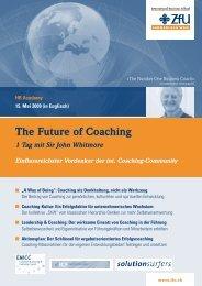 The Future of Coaching - Mehr-und-bessere-Gemeinden.net