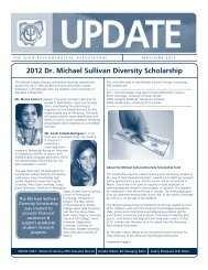May/June 2012 OP Update - Ohio Psychological Association