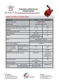 Automatic pellet burner ERATO GP45 - Page 2