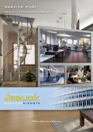 service pur! - Jeblick Gebäudedienste
