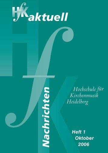 Hochschule für Kirchenmusik Heidelberg