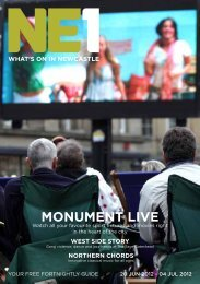 MONuMENT LIvE - Newcastle NE1