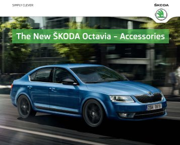 The New ŠKODA Octavia – Accessories