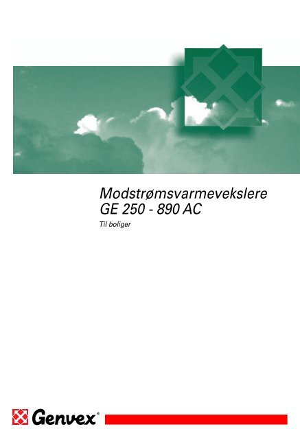 GE 890 AC - Genvex