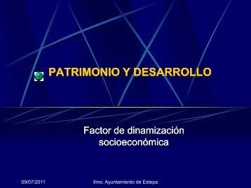 PATRIMONIO Y DESARROLLO