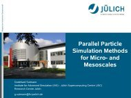 Parallel Particle-Simulation Methods for Micro- and Mesoscales