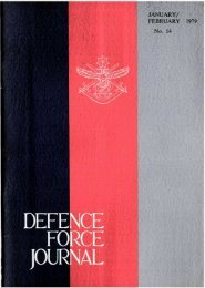 ISSUE 14 : Jan/Feb - 1979 - Australian Defence Force Journal