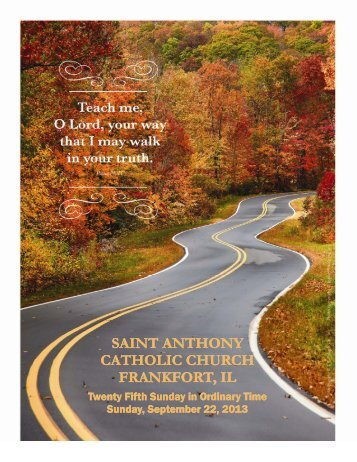saint anthony catholic church frankfort, il - St. Anthony Catholic Church