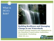 Building Resilience and Managing Change in our Watersheds
