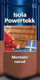 Isola Powertekk - montážní návod