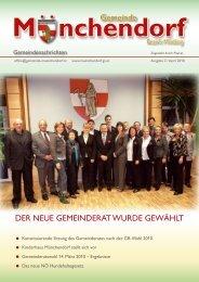 Veranstaltungskalender für April bis Juni 2010 - Gemeinde ...