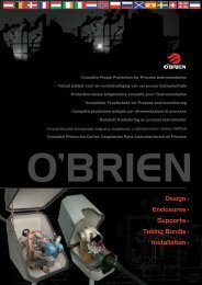o'brien provides complete freeze protection for process ...
