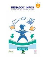 Renadoc infos octobre 2008 - ChloroFil