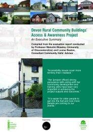 Access & Awareness Report.pdf - Community Council of Devon