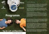 Programm - Tag der Luft