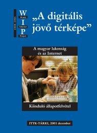 A magyar lakosság és az Internet - Tárki