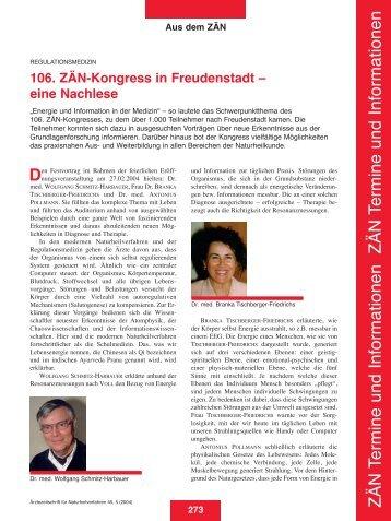 Heft 05 - Zentralverband der Ärzte für Naturheilverfahren