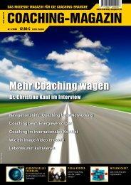 PRAXIS Coaching in der N-ERGIE  Aktiengesellschaft - Bernhard Lutz