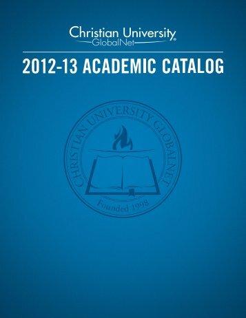 Christian University GlobalNet Catalog