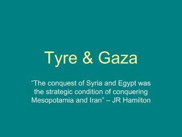 Tyre & Gaza