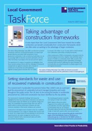 LGTF Newsletter - Issue 9 - Autumn 2007 - Constructing Excellence