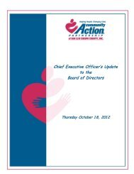 October CEO Update - Community Action Partnership of San Luis ...