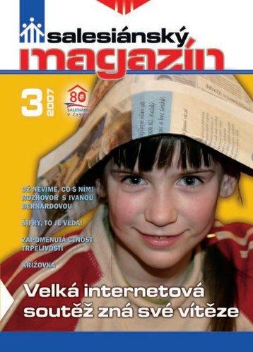 Salesiánský magazín č. 3/2007 - Salesiáni Dona Boska