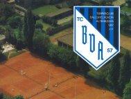Untitled - Hompage des TC BV Altenessen 1957 eV