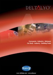 Carrosserie - Industrie - Bâtiment Car Body - Industry ... - Valmy