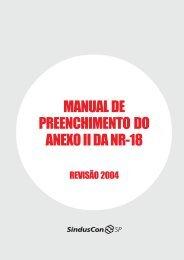 manual de preenchimento do anexo ii da nr-18 - Segurança e ...