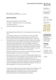 Bahnstadt Heidelberg Sehr geehrter Oberbürgermeister Herr Dr ...