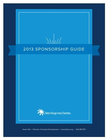 event sponsorship opportunities