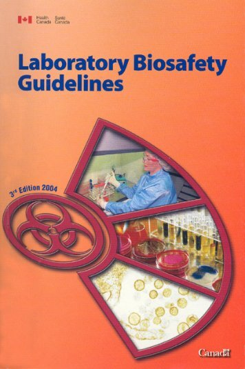 The Laboratory Biosafety Guidelines - 3rd Edition